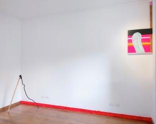 SANTACOSTA, Vista parcial da exposição Over-Witty, 2016, Espaço Qualcasa