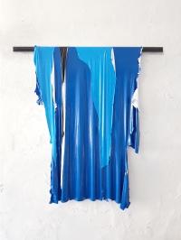 Fernando Soares, Capa 1, 2018. Tinta e cano de metal . 90x80 cm