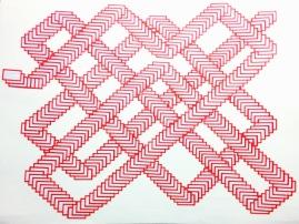 Fernando Soares, Clones 4, 2018. Colagem sobre papel . 50x65 cm