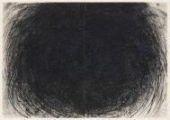 Gustavo Aragoni, Sem título, 2018 . Pastel e carvão sobre papel . 100x140cm