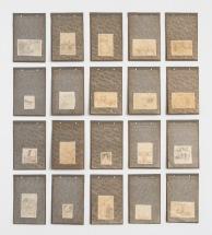 Miriam Bratfisch Santiago, Os bons amigos, 2017. Aquarela sobre papel, folha de álbum com proteção transparente. 82 x 73cm