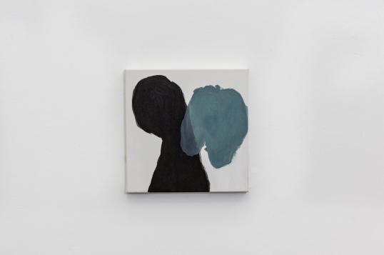 Silvia Jábali, sem título, 2019, acrílica sobre tela, 25 x 25cm