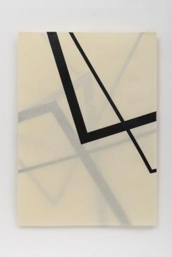 Michelle Rosset, sem título, 2019, série Gênesis. Sobreposição de Fita de restauro sobre papel. 100 x 70 cm cada (políptico)