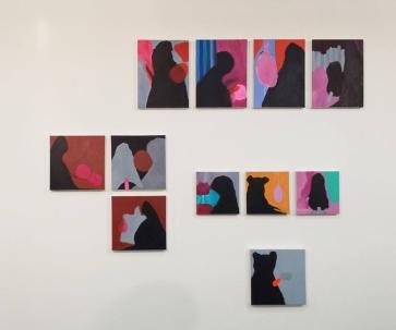Silvia Jábali, sem título, 2014, acrílica sobre tela, dimensões variáveis