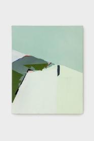 Sueli Espicalquis, sem título, 2018, óleo e cera sobre linho, 50 x 40 cm
