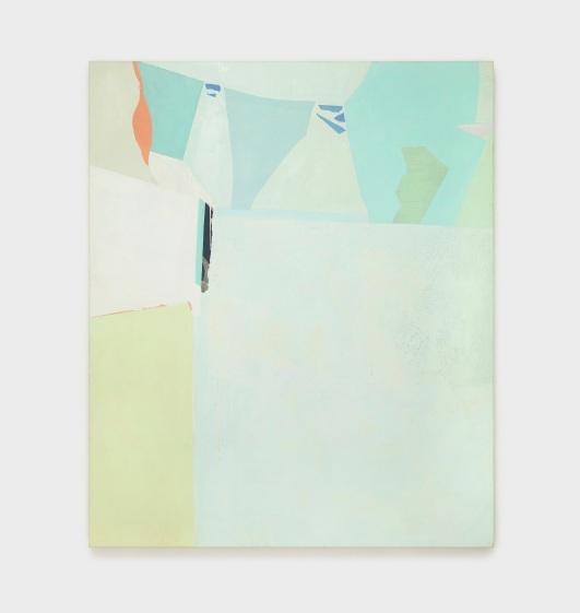 Sueli Espicalquis, sem título, 2015, óleo e cera sobre tela, 180 x 150 cm