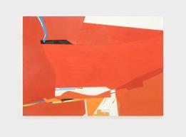 Sueli Espicalquis, sem título, 2017, óleo e cera sobre tela, 100 x 140 cm