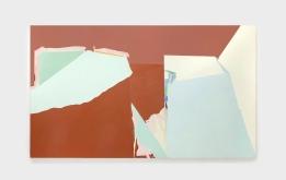 Sueli Espicalquis, sem título, 2016, óleo e cera sobre linho, 150 x 250 cm